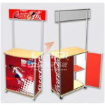 Picture 2 – Promotional Table with aluminum frame