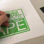 Picture 2 – Transfer Tape